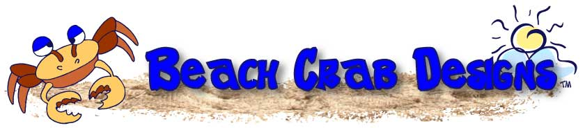 Beach Crab Designs